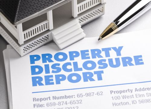 Property Disclosure Report